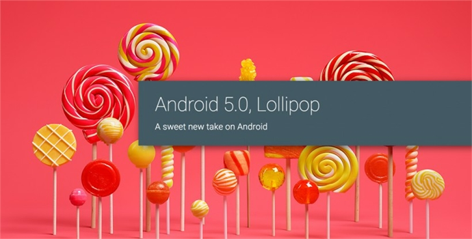 All new !!! Android Lollipop 5.0